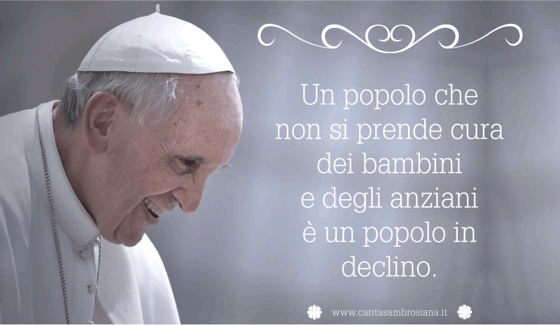Top Caritas Ambrosiana - Papa Francesco - Frasi celebri IR33