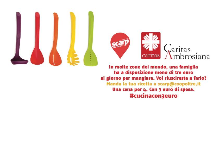 Caritas ambrosiana cucina con 3 euro cooking constest for Cucinare con 2 euro al giorno pdf