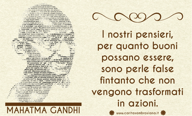 Caritas Ambrosiana Frasi Celebri