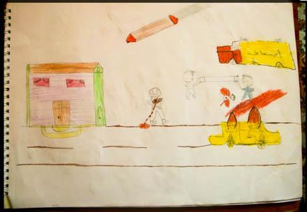 caritas ambrosiana - disegni dei bambini - Disegni Case Bambini