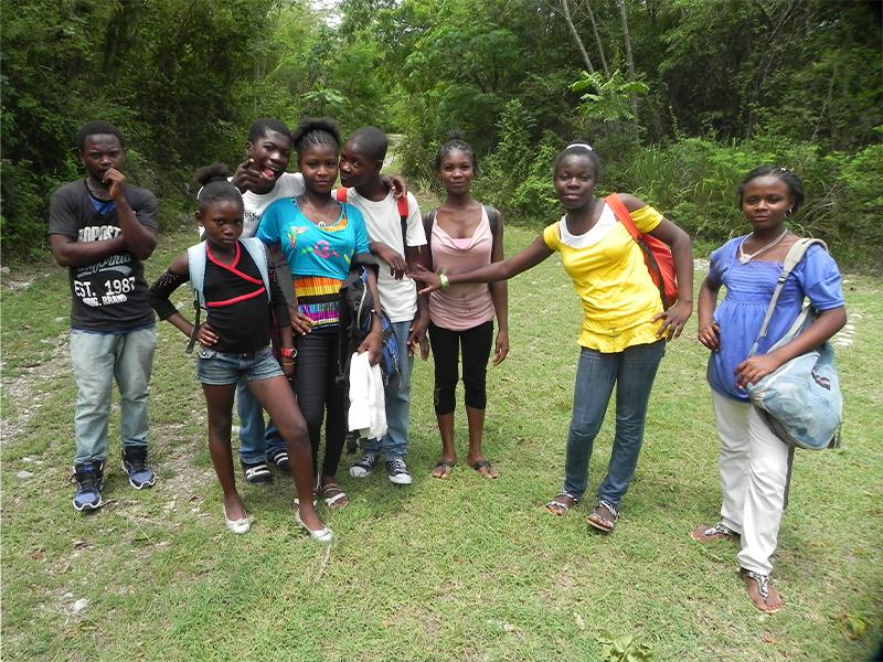 Caritas ambrosiana haiti kay chal caritas a for Piccole piantagioni
