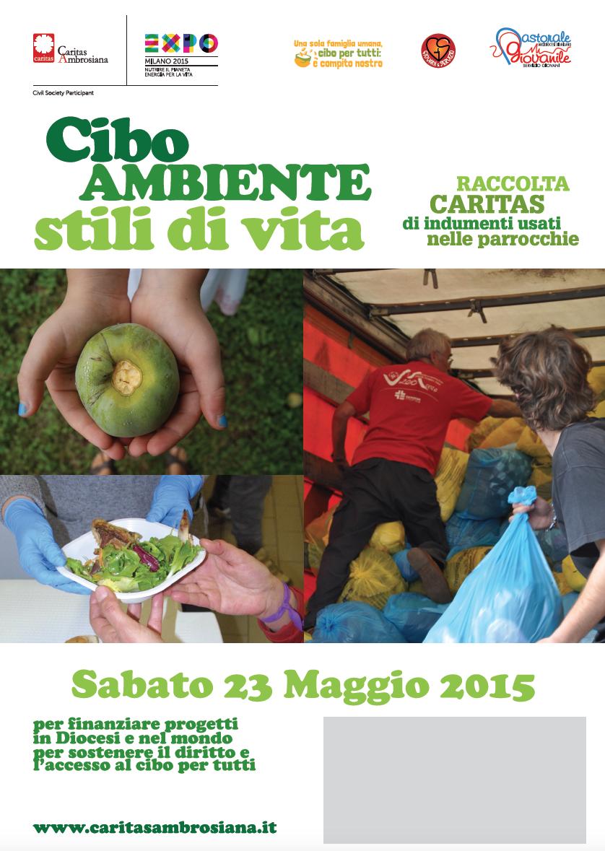 Caritas Ambrosiana - RACCOLTA CARITAS INDUMENTI USATI 2015 4bd8ed110c43
